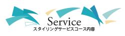 スタイリングサービスコース内容