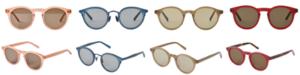 4色のサングラス